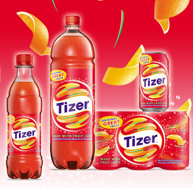 tizer jus de fruits