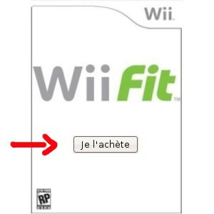 reserver wii feet sur amazon