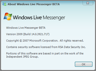 windows live messenger 9 14.0.3921.717