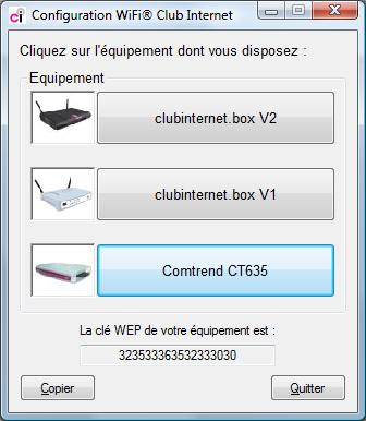 generateur de clef wep en fonction essid club internet